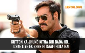Singham Dialogues | Ajay Devgan Famous Bollywood Movies