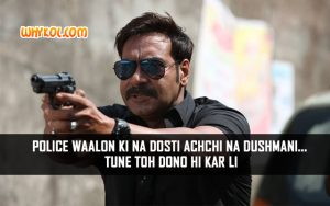 Action Dialogues from the Movie Singham