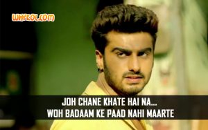 Famous Dialogues from the Film Tevar