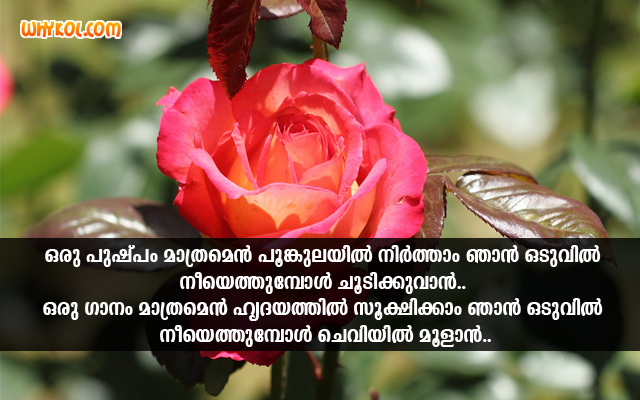 Love Songs Scraps Images | Quotes in Malayalam