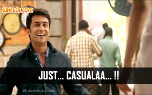 Just Casuala | Suriya Comedy Scene in 24 | Tamil movie dialogues