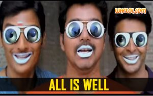 All is well dialogue image from the Movie Nanban