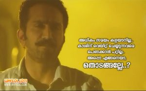 Shine Tom Chacko Dialogues From The Movie Ann Maria Kalippilaanu