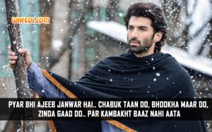 Romantic Quotes From Bollywood Movies | Aditya Roy Kapoor