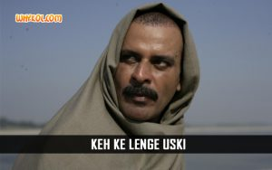 Manoj Bajpayee Action Dialogues From Gangs Of Wasseypur