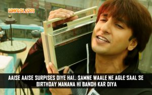 Ranveer Singh Comedy Dialogues From The Hindi Movie Kill Dil