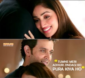 Love Dialogues From Kaabil | Hindi Movie Dialogues