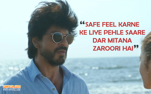 Motivational Dialogues From Dear Zindagi | Hindi Movie Quotes