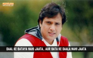 Govinda Comedy Dialogues From The Movie Loot