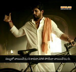DJ movie punch dialogues